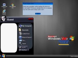 """Flash игра: """"Поиздевайся над Windows Visa"""""""